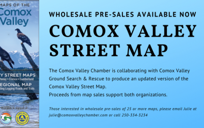 Comox Valley Street Maps for Sale